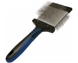 Пуходерка для собак Transgroom Show Tech Twin-Flex Slicker Brush