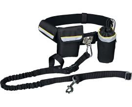 Пояс-сумка и поводок Trixie Hands Free для бега с собакой