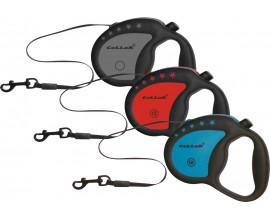 Рулетка для собак Collar Control ручка комфорт лента, 4 м/12 кг