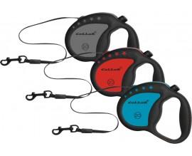 Рулетка для собак Collar Control ручка комфорт лента, 4 м/20 кг