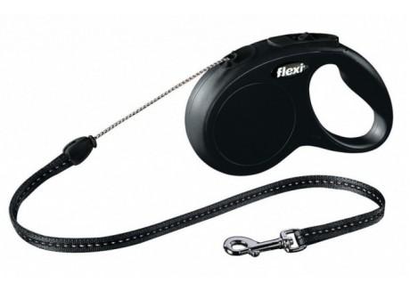 Рулетка для собак Flexi New Classic (трос)