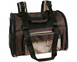 Рюкзак-переноска для собак и кошек Trixie deLuxe коричневый/бежевый (28871)