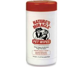 Салфетки очищающие для собак и кошек 8in1 Nature's Miracle Pet Wipes, 70 шт
