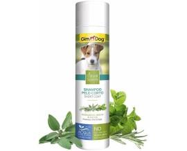 Шампунь для собак с короткой шерстью GimDog Natural Solutions, 250 мл