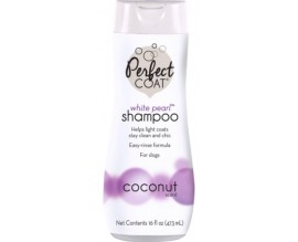 Шампунь для собак светлых окрасов 8in1 PERFECT COAT White Pearl Shampoo (680079 /0642)