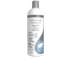 Шампунь от блох и клещей для собак и кошек Veterinary Formula Flea Tick Shampoo, 473 мл