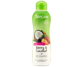 Шампунь от сильного загрязнения кошек и собак TropiClean Berry Coconut