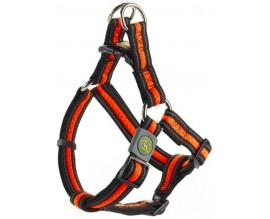 Шлея для собак Hunter Manoa Vario Quick нейлон оранжевая