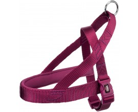 Шлея для собак Trixie Premium норвежская ярко-розовая