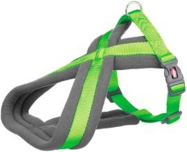 Шлея для собак Trixie Premium туристическая ярко-зелёная