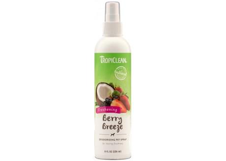 Спрей-дезодорант для кошек и собак TropiClean Berry Breeze, 236 мл