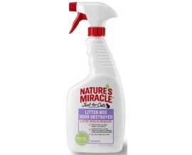 Средство для устранения запаха кошачьего туалета 8in1 Nature's Miracle, 709 мл