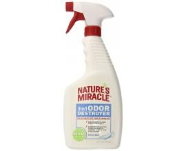 Средство для устранения запахов 3in1 Odor Destroyer с ароматом свежего белья, 710 мл
