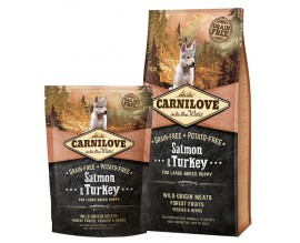 Сухой корм для щенков Carnilove Salmon and Turkey Large Breed Puppy