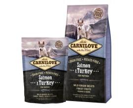 Сухой корм для щенков Carnilove Salmon and Turkey Puppy