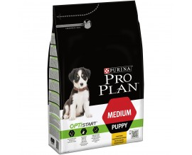 Сухой корм для щенков средних пород ProPlan Puppy Medium