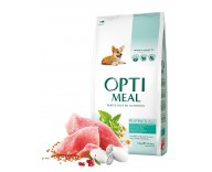 Сухой корм для щенков всех пород Optimeal - индейка