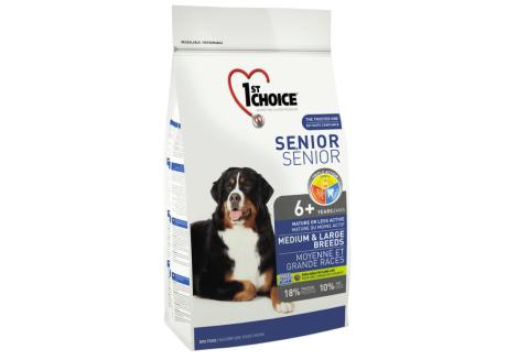 1st Choice Сухой корм для собак Senior Medium and Large Breeds
