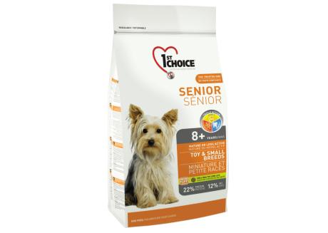 1st Choice Сухой корм для собак Senior Toy and Small Breeds