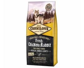 Сухой корм для собак Carnilove Fresh Chicken & Rabbit for Adult dogs