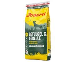 Сухой корм для собак Josera dog Geflugel and Forelle