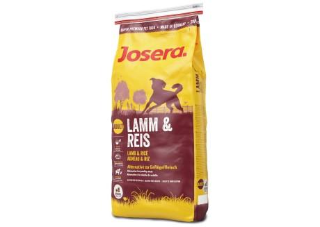 Сухой корм для собак Josera Dog Lamb and Rice