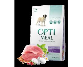Сухой корм для собак малых пород Optimeal - утка