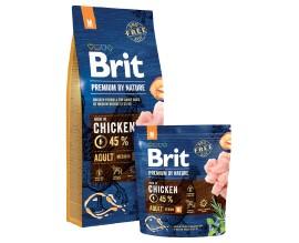 Сухой корм для собак средних пород Brit Premium Dog Adult M
