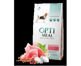 Сухой корм для собак средних пород Optimeal - индейка