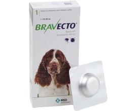 Таблетки от блох и клещей для собак Bravecto от 10 до 20 кг, 1 таблетка