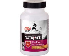 Успокаивающие жевательные таблетки для собак Nutri-Vet Pet Ease, 60 табл