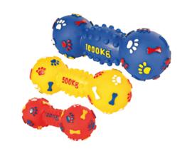 Виниловая игрушка для собак Trixie Гантель с пищалкой