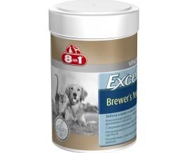 Витамины для кожи и шерсти собак и кошек 8in1 Vitality Excel BREWERS YEAST