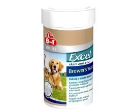 Витамины для кожи и шерсти собак и кошек 8in1 Excel BREWERS YEAST