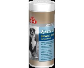 Витамины для крупных собак 8in1 Vitality Excel BREWERS YEAST Large Breed, 80 табл