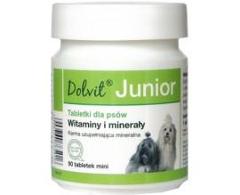Витамины для щенков Dolfos Dolvit Junior mini, 90 табл