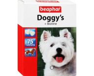 Витамины для собак Beaphar Doggy's Biotin, 75 табл