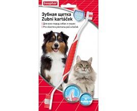 Зубная щетка для собак и кошек Beaphar Toothbrush двусторонняя