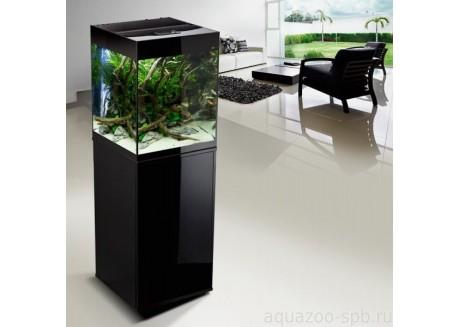 Аквариум Aquael Glossy Cube черный, 135 л (114847)