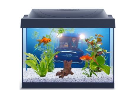 Аквариум для золотой рыбки Tetra с миньонами, 30 л