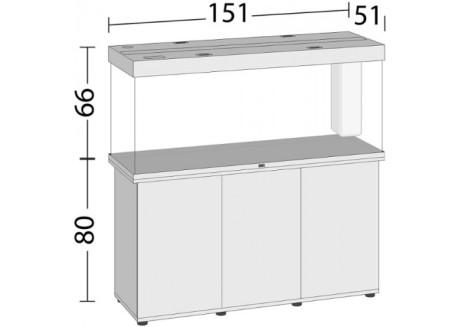 Аквариум Juwel RIO 450 LED белый (05450)