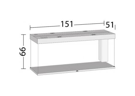 Аквариум Juwel RIO 450 LED коричневый (05750)
