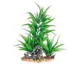 Растение для аквариума пластиковое зеленое Trixie 28 см (89303)