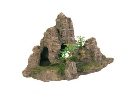 Декорация для аквариума Trixie Гора с пещерами 22 см (8853)