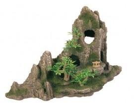 Декорация для аквариума Trixie Скала с пещерой 27 см (8854)