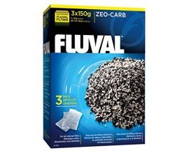 Наполнитель для внешних фильтров Fluval Zeo-Carb 450 гр