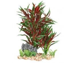 Растение для аквариума пластиковое красное Trixie 28 см (89304)