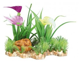 Растение пластиковое Trixie 13 см для аквариума (89301)