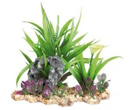 Растение пластиковое Trixie 18 см для аквариума (89302)
