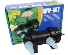 Стерилизатор для аквариума и пруда Jebo UV-H 7 Вт